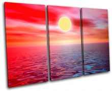 SEASCAPE Sunset Seascape - 13-1489(00B)-TR32-LO